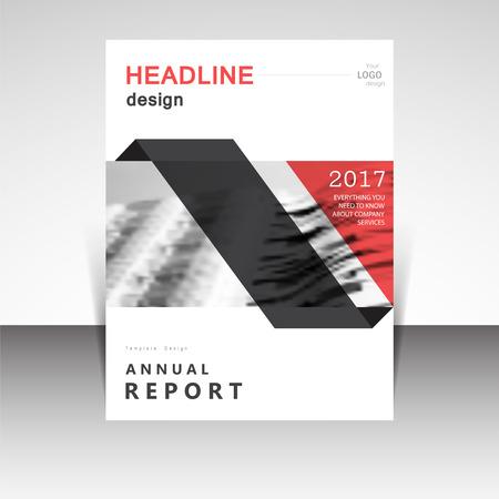 magazine cover: Business annual report brochure design illustration. Business presentation, poster, cover, booklet, banner, leaflet, newsletter, magazine, publication, landing page layout template