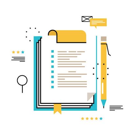 Fragebogen Zwischenablage, Auswertung, Zwischenablage mit leeren Checkliste Form, To-Do-Liste, Planung Projekt, Bewertung, Daten sammeln Vektor-Illustration Design für mobile und Web-Grafiken