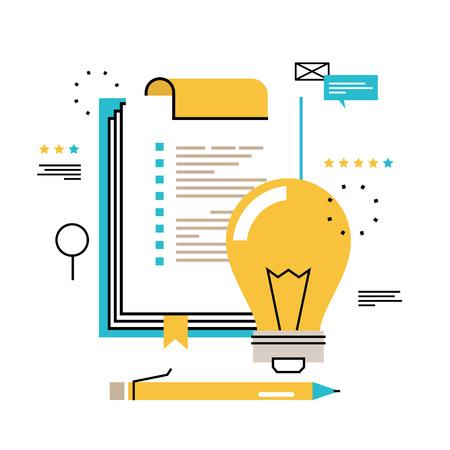 Appunti del questionario, valutazione, appunti con modulo di lista di controllo in bianco, progetto di pianificazione, valutazione, analisi, raccolta dati disegno vettoriale illustrazione per la grafica mobile e web