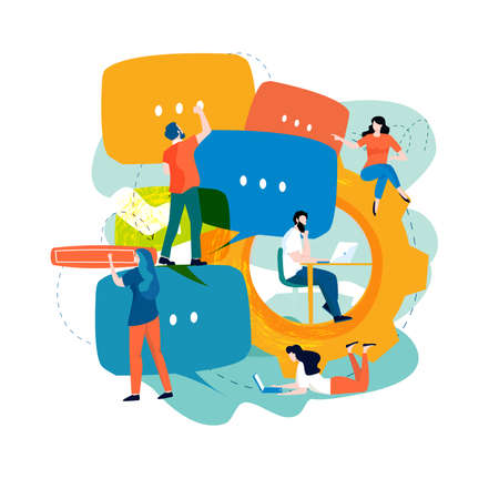 SEO analytics, keyword research, market research, SEO optimization for website and mobile website vector illustration. Design for mobile and web graphics