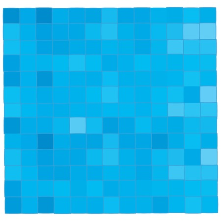 Clear blue mosaic background illustration Vector