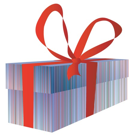 Gift box for you Vector