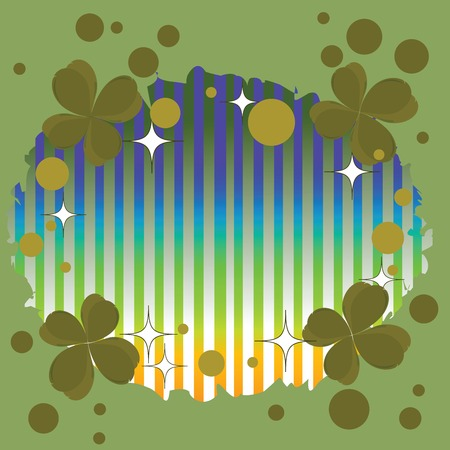 Clover background for Saint Patricks Day Vector