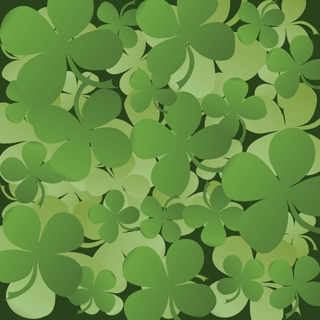 Saint Patrick Background card Vector