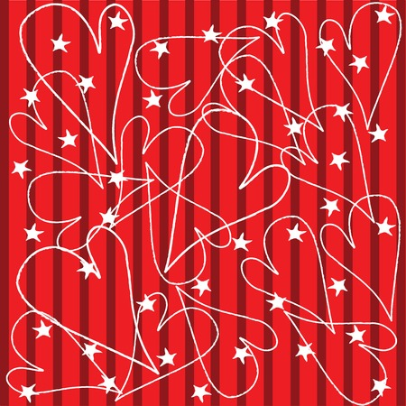 Seamless background for Valentine's Day Stock Vector - 6135054