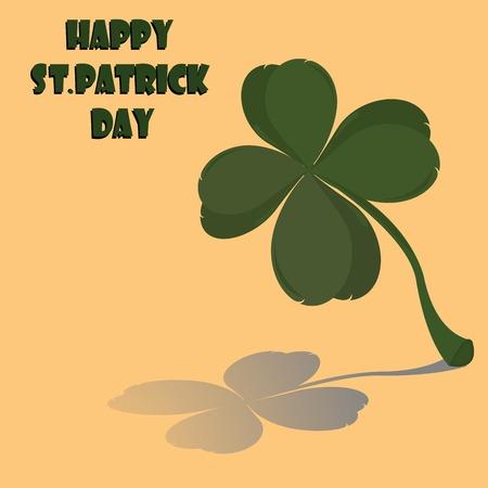 Happy St' Patrick Day Stock Vector - 6135017