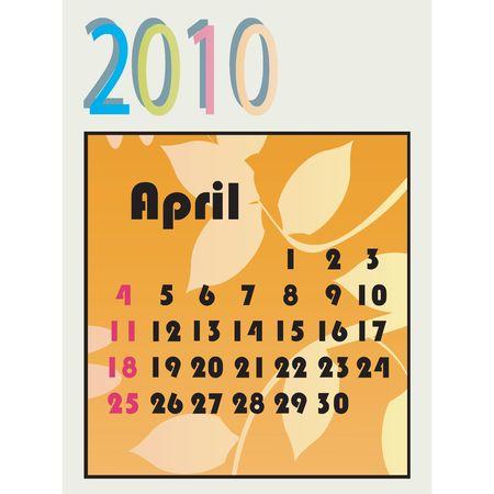 2010 calendar photo