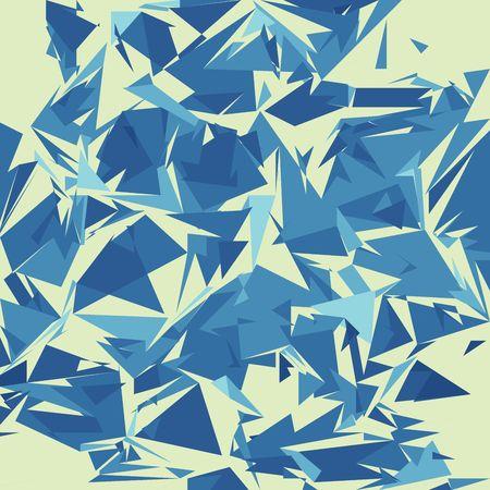 Broken glass texture, illustration illustration