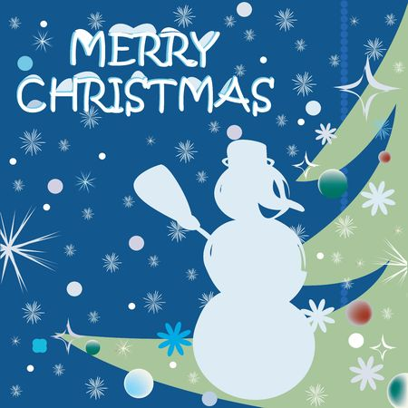 Christmas celebration card art Stock Photo - 6187259