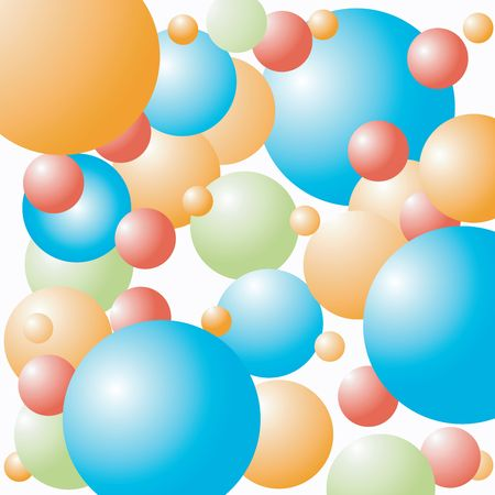 celebration balloons background, art Stock Photo - 6187334