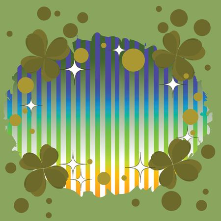 Clover background for Saint Patricks Day photo