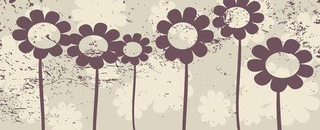 floral grunge, background design  photo
