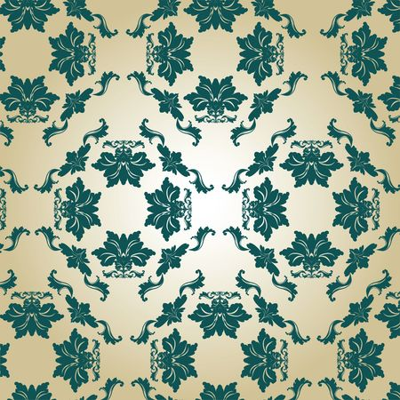 Beautiful Damask background, art Stock Photo - 6197456