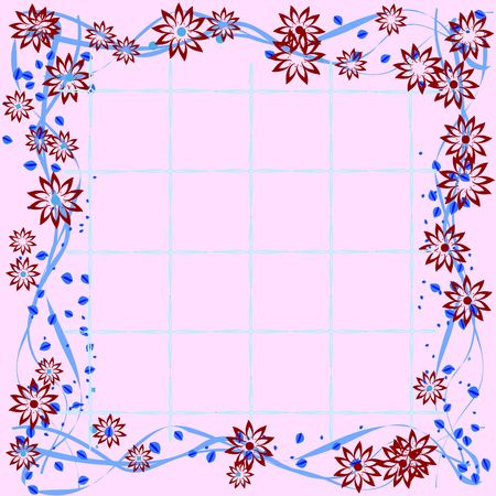 Floral tile Stock Photo - 6197073