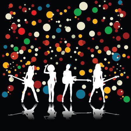 Girls band Stock Photo - 6187398