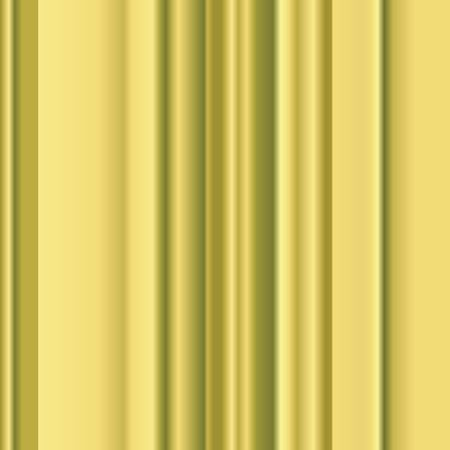 Golden stripes background, gradient drapery Stock Photo - 6195624