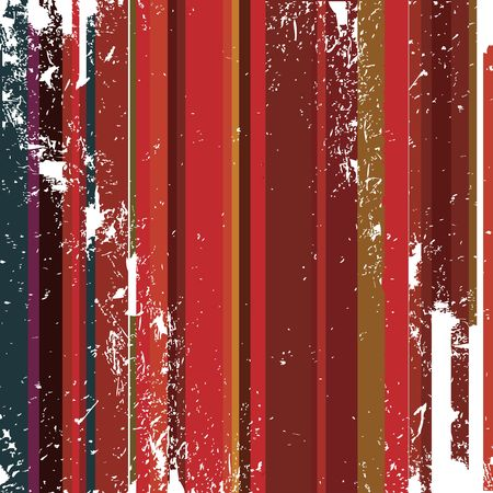 Weathered wall or background with painted, vertical stripes in grunge style Stock Photo - 6196535