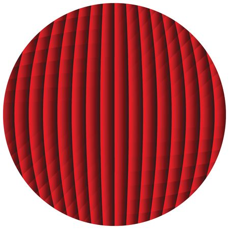 op art sphere photo