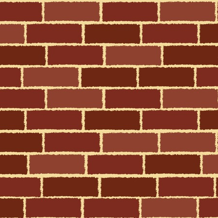 Brick wall texture Stock Vector - 6290318