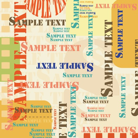 Sample text background Stock Vector - 6290375