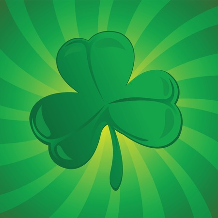 clover or shamrock suitable for St. Patrick's Day  Stock Vector - 6441988