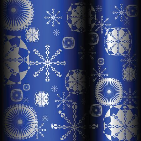 Seamless background with snowflakes Stock Photo - 6528263