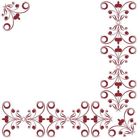 Decorative design elements, border artwork Stock Vector - 6855160