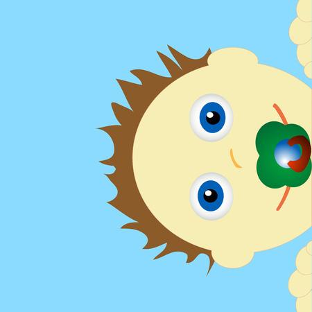Baby  Stock Vector - 6884140