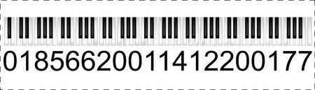 Musical trademark Vector