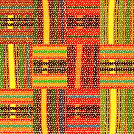 seamless african design, traditional rug  photo