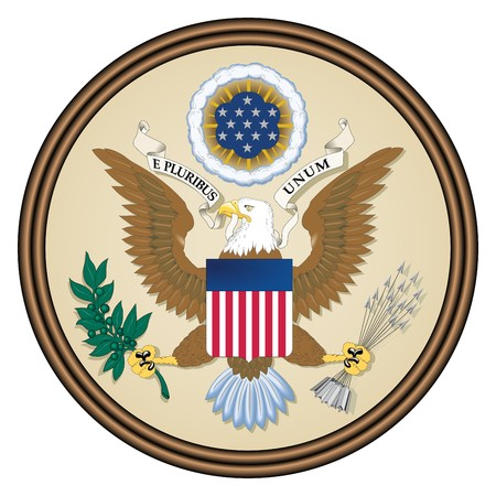 Great seal of the United States of America photo