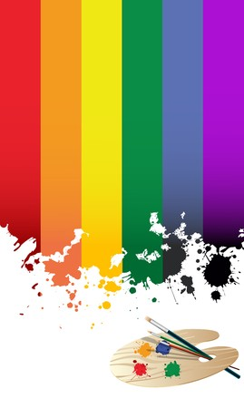 Rainbow flag Stock Photo - 7127878