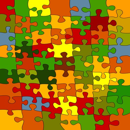 Puzzle background Stock Photo - 7363176