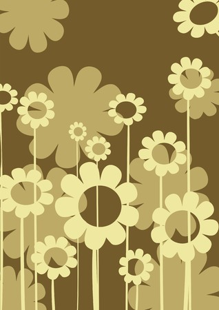 arrangment: Abstract background with floral arrangment