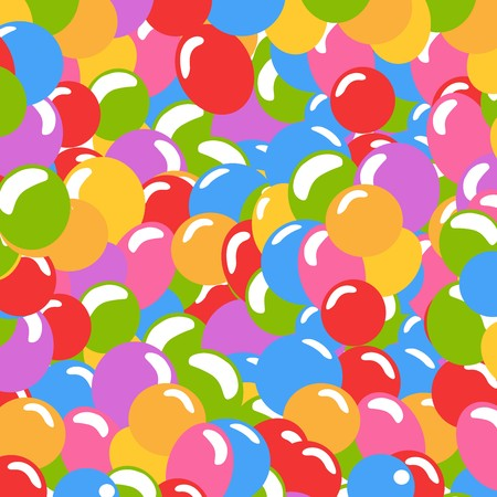 Lots of balloons background in many colors Stock Vector - 8104102