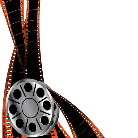 Design element for cinema background Vector