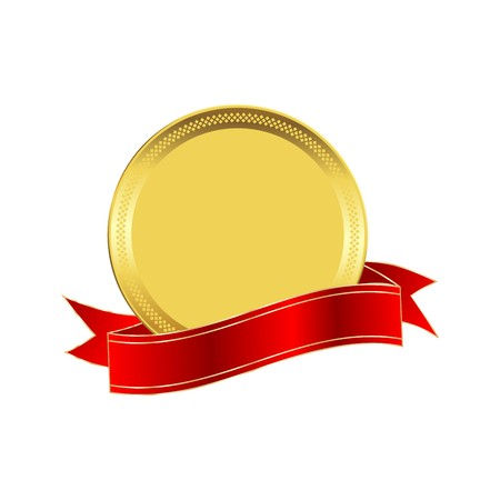 guaranteed: Golden seal with a red ribbon