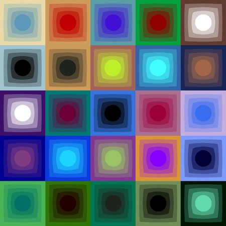 raytrace: Optical art Illustration