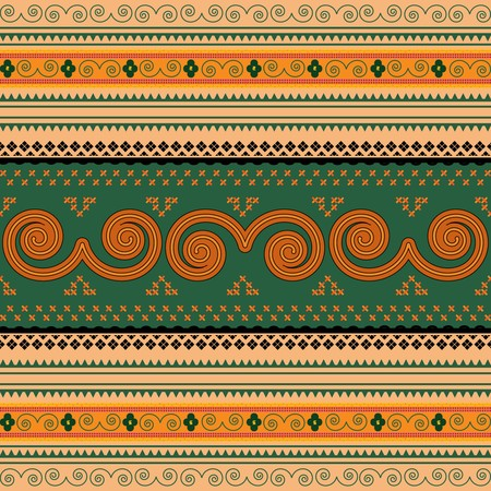Thailand traditional pattern Stock Vector - 8104144