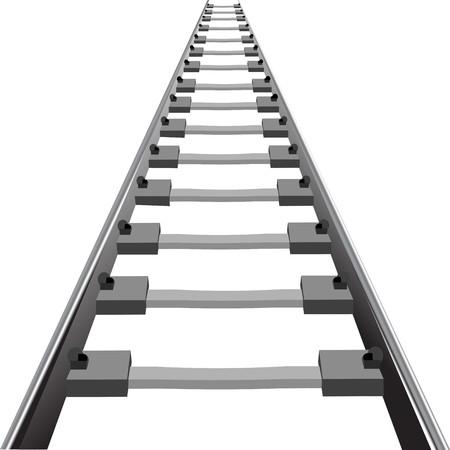 train track: Railway background