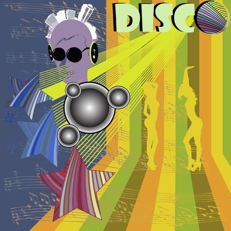 Disco layout brochure photo