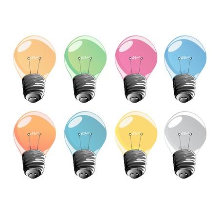lighted: Color lightbulbs