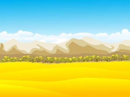 Peaceful autumn background with mountains Stock Photo - 8414355