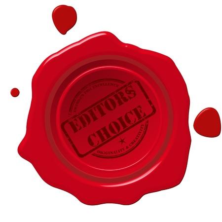 editors: Editors choice  red wax steal