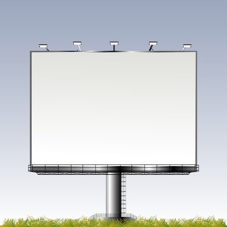 Grand outdoor billboard with room for your text Stock Photo - 8613875