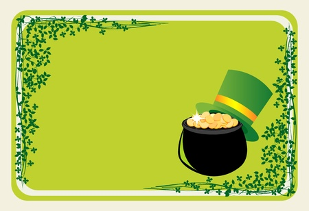 Banner for St Patrick's Day Stock Photo - 8613864