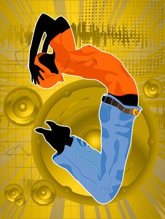 noone: Dance like noone is watching Illustration