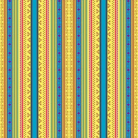 Ukrainian ethnic seamless pattern, graphic illustration Vector