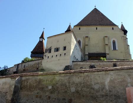 Fortified church of Biertan in Transylvania, Romania Stock Photo - 10377404