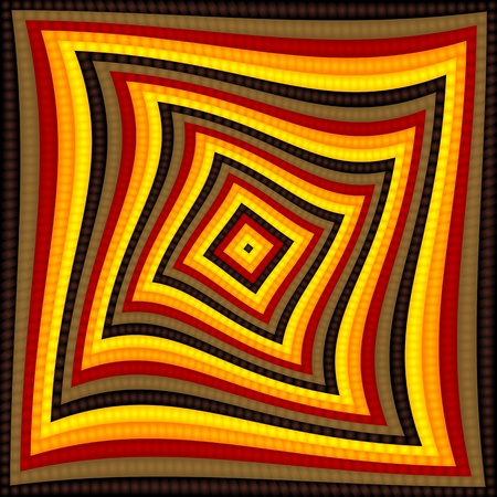 altered: op artpop art checkerboard pattern background Illustration